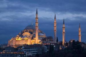 suleymaniye moskén istanbul foto