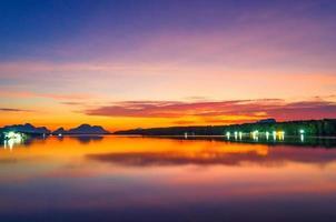fiske, hav, himmel foto