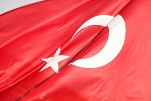 turkiska flaggan foto