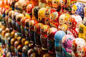 intryck av en helg i Moskva