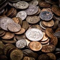 värdelösa pengar foto