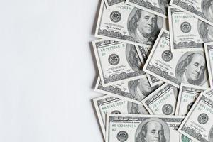 bakgrund med pengar foto