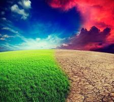 klimatförändring foto