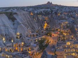 cappadocia landskap, Turkiet foto