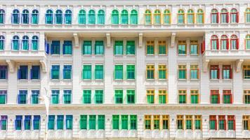 byggande av ministeriet för kultur, samhälle och ungdomar i singapore foto