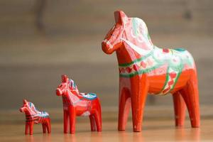 dalecarlian häst 5 foto