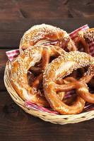 bayerska kringlor foto
