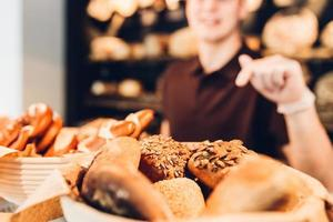bageri sortiment foto
