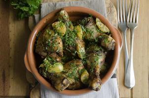 marockansk kycklinggryta foto
