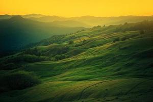 norra kalifornien landskap foto