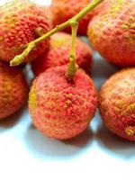 litchi thailändsk frukt foto