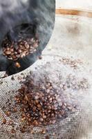 kaffebröd i aktion foto