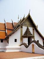 buddhistiska templet wat phumin foto