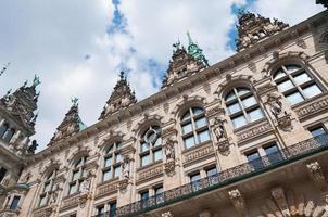 hamburg stadshus - Tyskland, hamburg foto