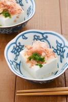 japansk mat, hiyayakko foto