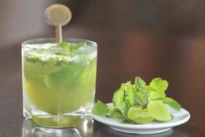 mojito lime drink cocktail foto