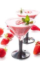 jordgubbssmoothie foto