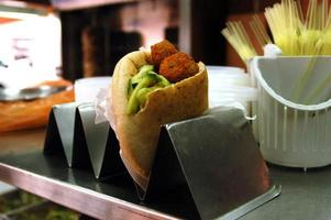 mat och mat - falafel foto