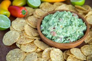 guacamole chips foto