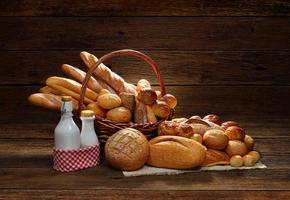 bröd och bageri foto