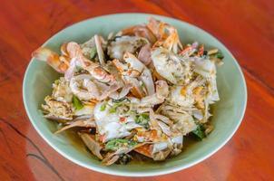 Rör stekt krabba