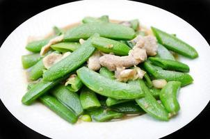 blandade kokta grönsaker foto