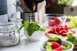 ingredienser för matlagning foto