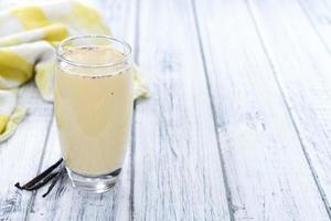 färskt vaniljskaka foto
