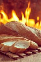 bröd och ugn foto
