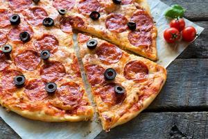 Pizzadags foto
