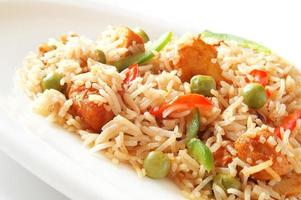 traditionell indisk biriyani curry foto