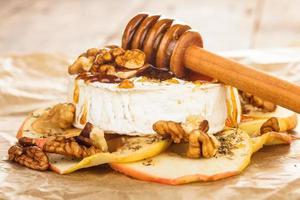 bakad camembert foto