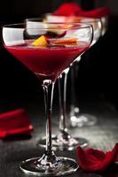 bitter söt cocktail foto