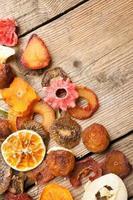 torkade frukter