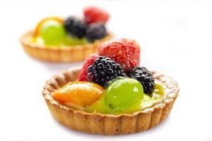 italiensk fruktbakelse foto