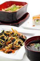 japansk middag foto