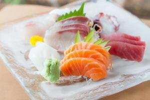 sashimi-skålen foto