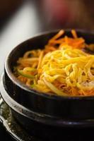 kryddig koreansk soppa foto