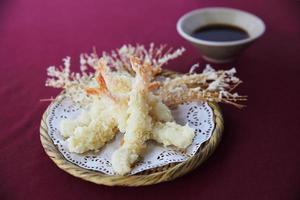 tempura japansk mat foto