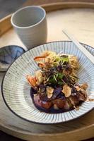 japansk maträtt foto