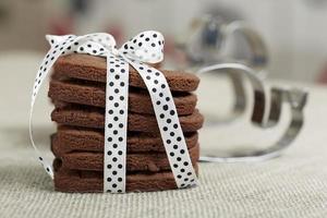 läckra chokladkakor foto