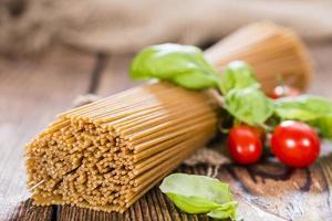 fullkornsspaghetti foto