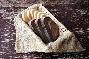 brödskivor foto