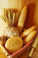 blandat bröd