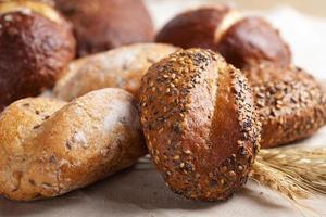 hälsosamt bröd foto