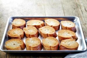 rostat bröd foto