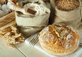 hembakat bröd foto