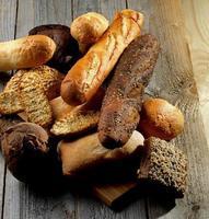 olika bröd foto