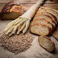 skivat bröd foto