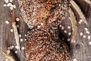 läckert bröd foto